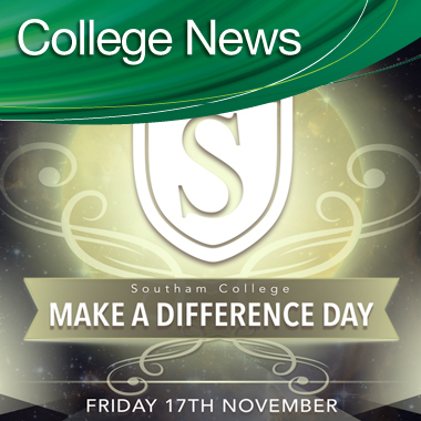 Make a difference day -  Friday 17th November.