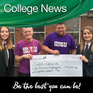 Southam College's Charity Campaign for Crohn's & Colitis Breaks Records