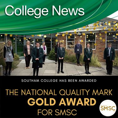 The National Quality Mark GOLD Award for SMSC
